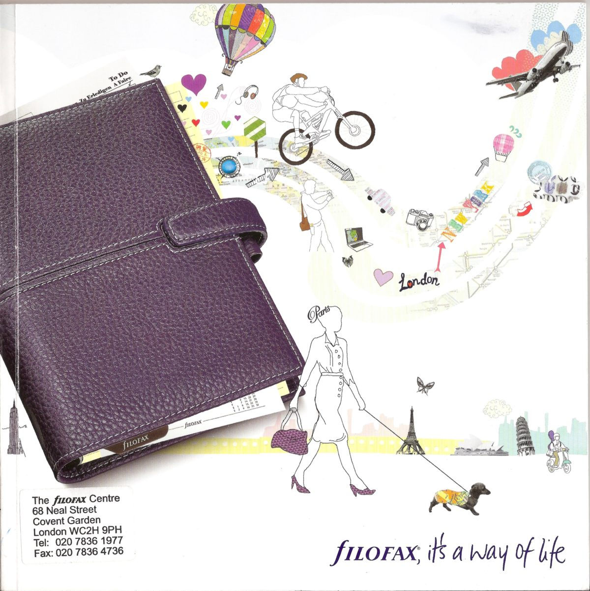 Filofax UK Full Catalogue 2010/11