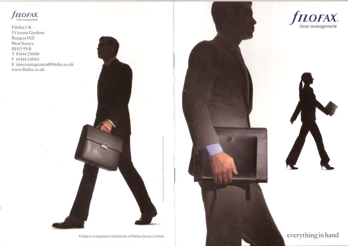 Filofax Time Management Catalogue2005/6