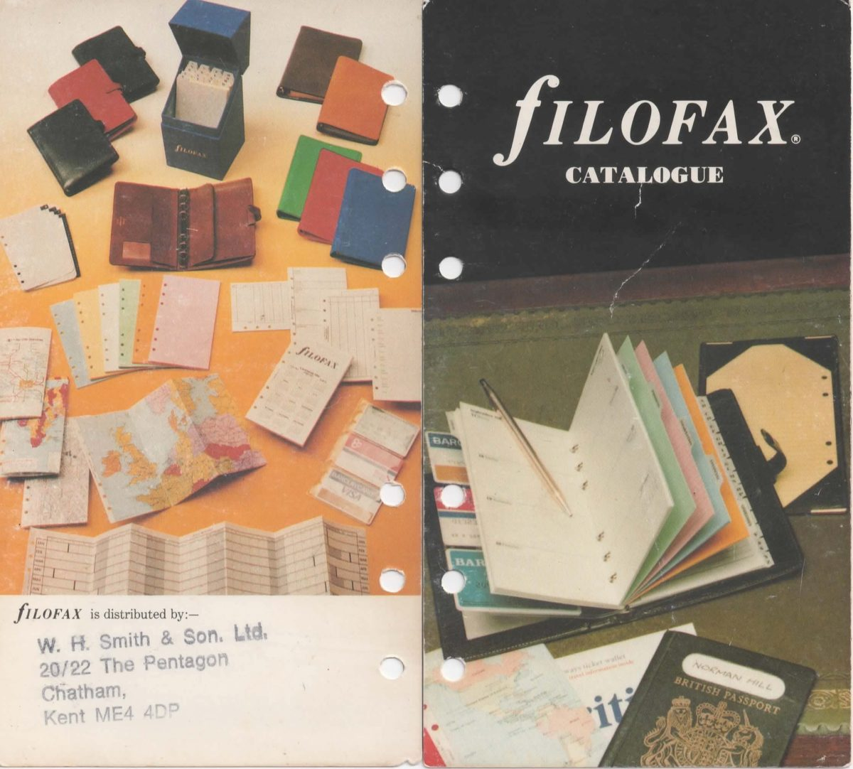 Filofax Full catalogue 1984