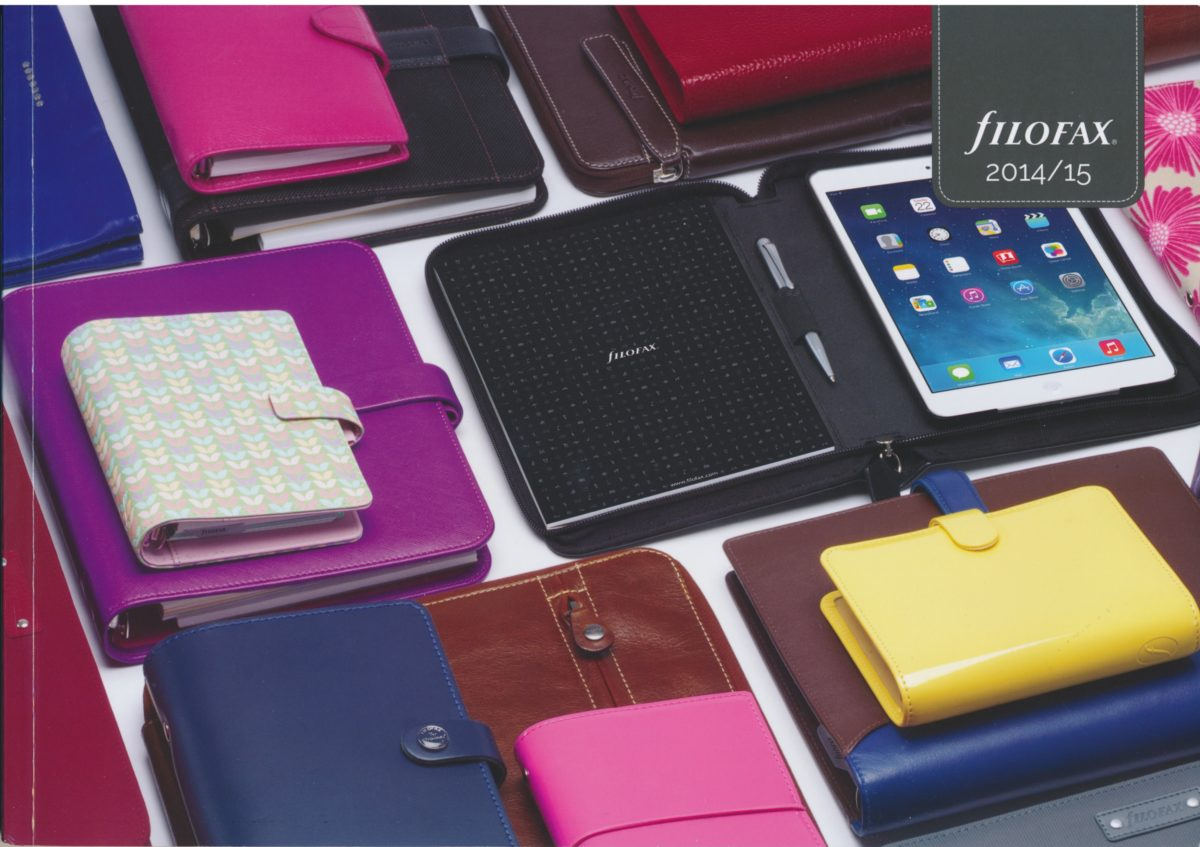 Filofax UK Full Catalogue 2014/15