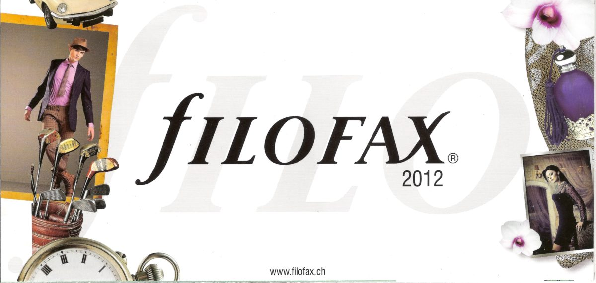 Filofax Switzerland 2012