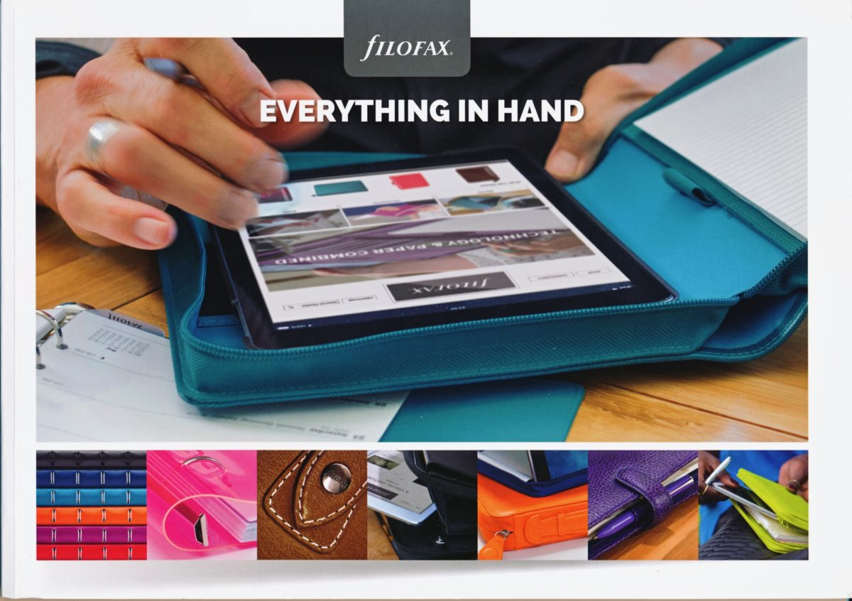 Filofax UK Full Catalogue 2015/16