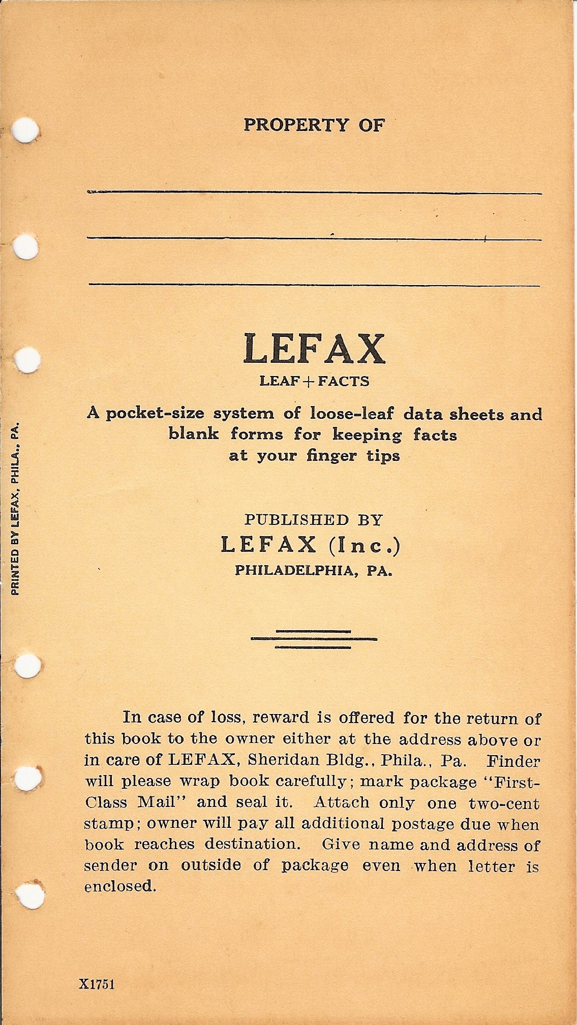 Lefax 1928 Catalogue and Radio Log